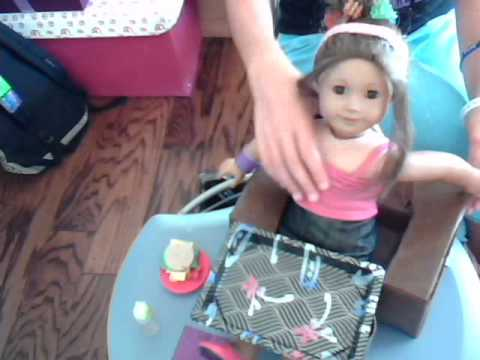 how to make a portable table for your ag doll