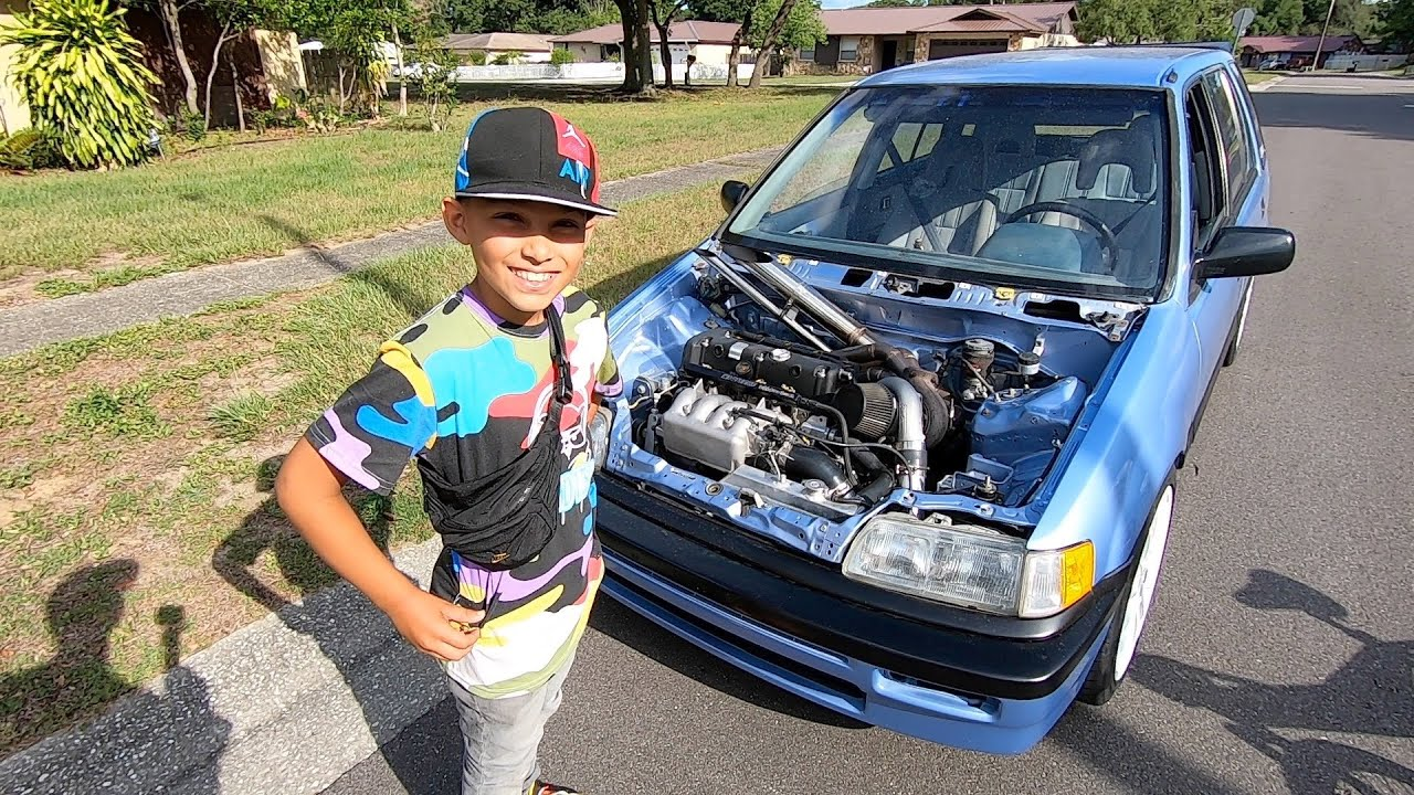 This Kid Thought My Car Was Cool So I Let Him Rev It