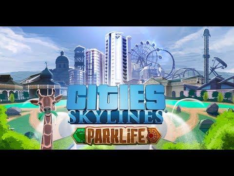 Cities Skylines - ParkLife Part 1 - Goal: 300,000 People City - 1440p