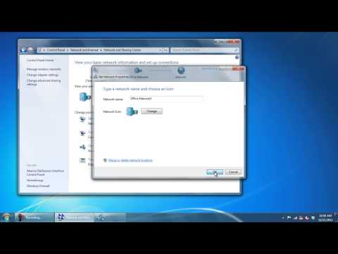 How to Change Network Name in Windows 7