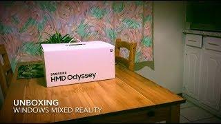 Unboxing Samsung HMD Odyssey