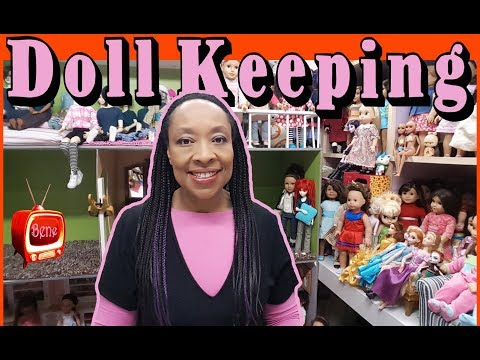 DOLLKEEPING: BJD Dollhouse update and Ball Jointed Doll chat