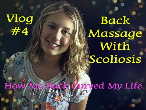 How my back curved my life - Scoliosis Vlog #4 - Massages