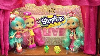 Coming Soon Shoppies + Shopkins LIVE Show Dancing On Stage - News Video