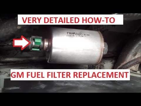 How To Remove and Replace Your Fuel Filter