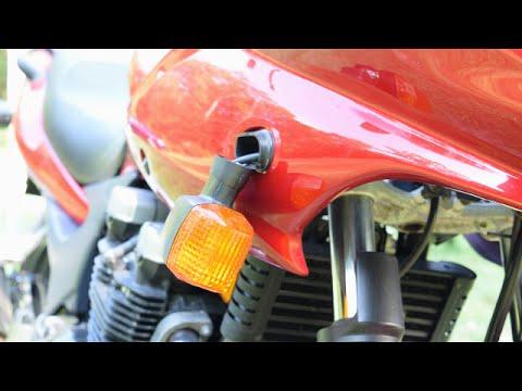 Motorcycle Turn Signal Bracket Replacement - Kawasaki ZR-7S