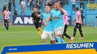 Resumen: Sporting Cristal vs. Sport Boys (4-2)