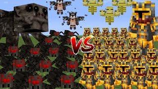 Minecraft 1000 SPIDERS VS 1000 MC NAVEED MOD / FIGHT AND SURVIVE THIS MASSACRE!! Minecraft