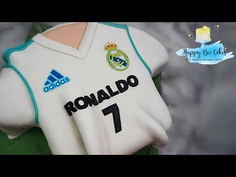How to make a football shirt cake | Football cake ideas