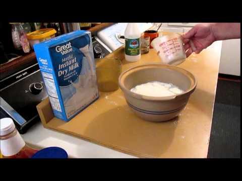 Homemade Buttermilk Part 1