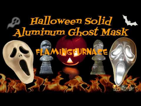 How To Make - Solid Aluminum Ghost Mask - Halloween Decoration