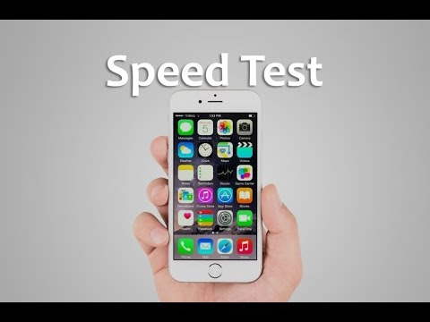 iPhone 6S Speed & Performance Test