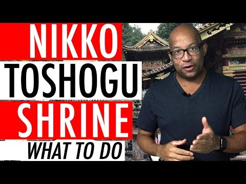 Nikko Toshogu Shrine Japan Review Blog Guide List View Video 2017 ⛩ 🏯 🌸