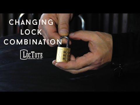 Changing Lock Combination