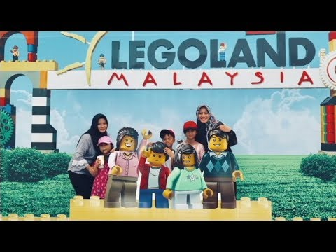 Legoland Malaysia - Universal Studio Singapore ZVLOG#1