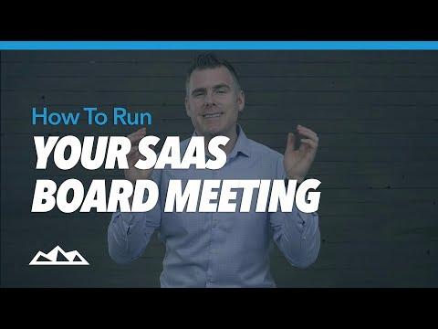 How To Run Your SaaS Board Meeting   Dan Martell