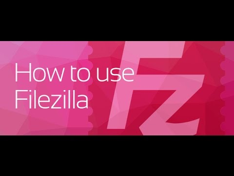How to use Filezilla for FTP website file management