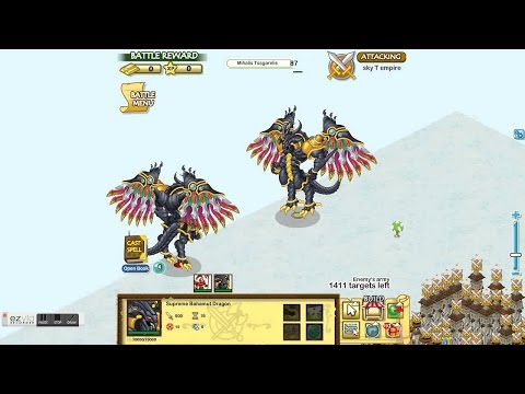 Social Empires How to get an Supreme Bahamut Dragon