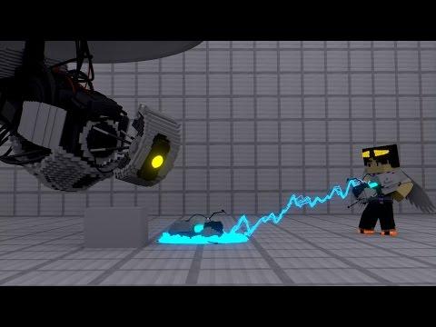 Minecraft Portal Gun  [Minecraft Animation]
