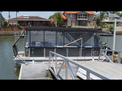 Runaway Bay Pontoon Boat for sale Action Boating boat sales Gold Coast Queensland Australia