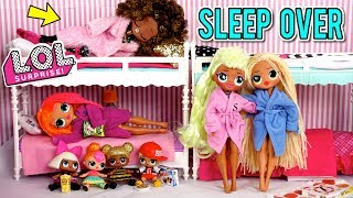 Download LOL Doll Family Slumber Party with LOL OMG Dolls - Secret Crush Revealed! Video