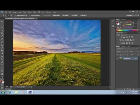How to Make Fake HDR Effect in Photoshop CS6