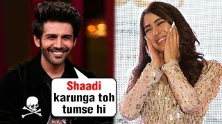 Kartik Aaryan DESPERATE To Marry Sara Ali Khan | Koffee With Karan 6