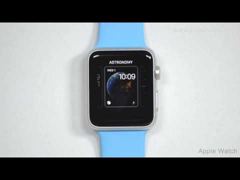 Apple Watch - How To Change Watch Faces On Your Apple Watch