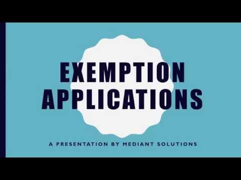 Exemption Applications - Bargaining Councils