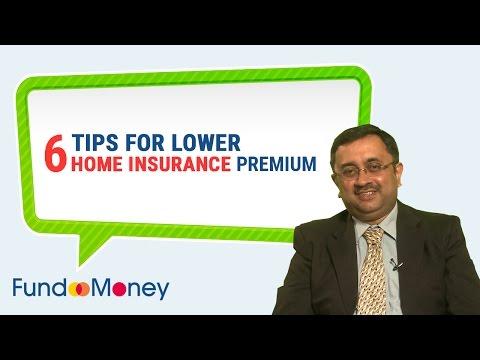 6 Tips For Lower Home Insurance Premium