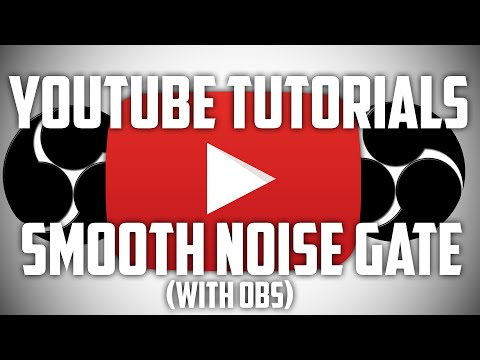 SMOOTH NOISE GATE IN OBS! NO KEYBOARD SOUNDS IN YOUR RECORDING! • Youtube Tutorials Ep.2