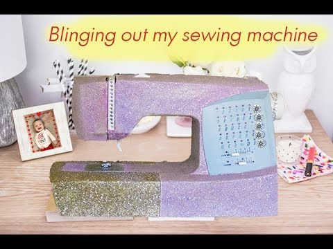 Blinging out my sewing machine!