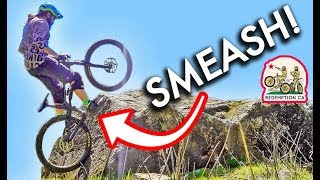 THIS TRAIL WILL BREAK YOU AND YOUR BIKE // Redemption CA Ep. 10