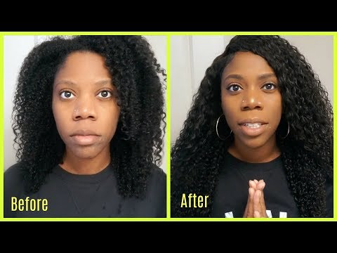 Productjunkiexoxo Before and After   DYHAIR777