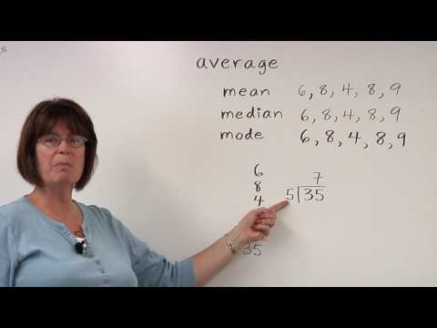 Solving Math Problems : Finding Averages