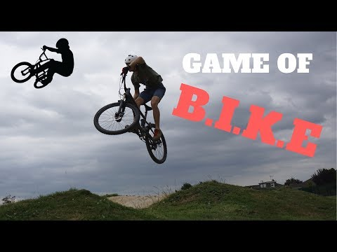 Game of B.I.K.E at the Pump Track | Mountain Bikes at the BMX Track