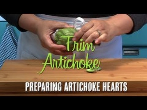 How to Trim Artichoke Hearts