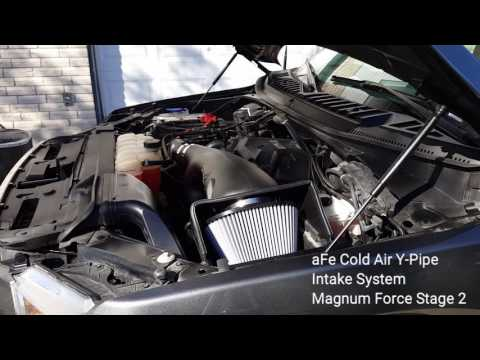 aFe Cold Air Intake Magnum Force Stage 2 on a 2015 Ford F150 2.7L