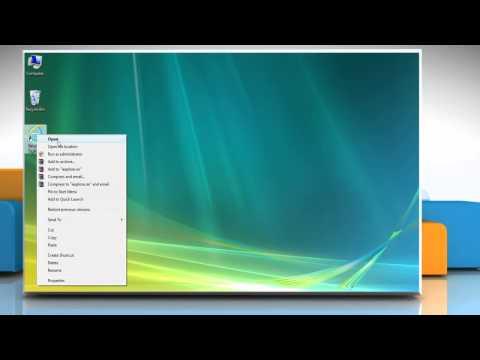 How to Change Default 'Download' Save Location in Internet Explorer® 9