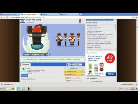 Top 5 Minecraft Skins (Most Downloaded) 2012