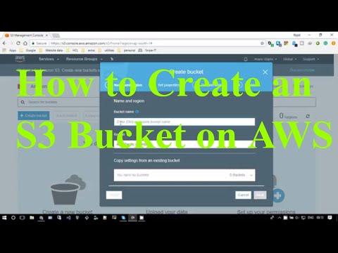 How to Create an S3 Bucket on AWS     Curious Abeey