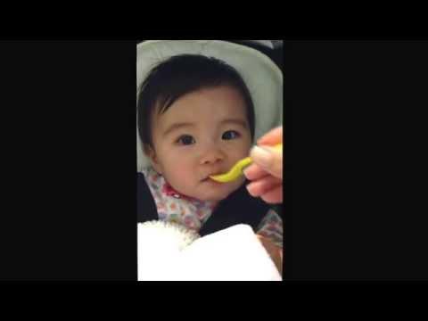 Tart frozen yogurt baby reaction