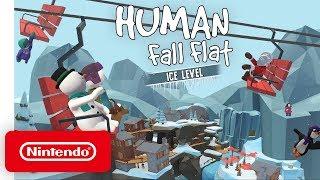 """Human: Fall Flat """"Ice"""" DLC - Launch Trailer - Nintendo Switch"""