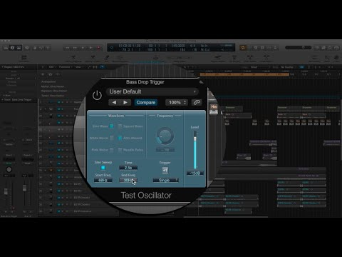 Creating a Bass Drop in Logic Pro X