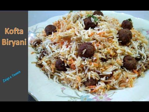 Mutton Kofta Biryani | Awadhi Style