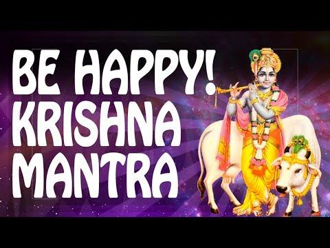 KRISHNA KRISHNA mantra ☼ HAPPINESS mantra of BLISS Hari 神 Powerful Mantras Meditation Music PM 2018