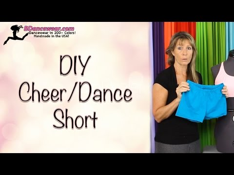 DIY Cheer/Dance Shorts