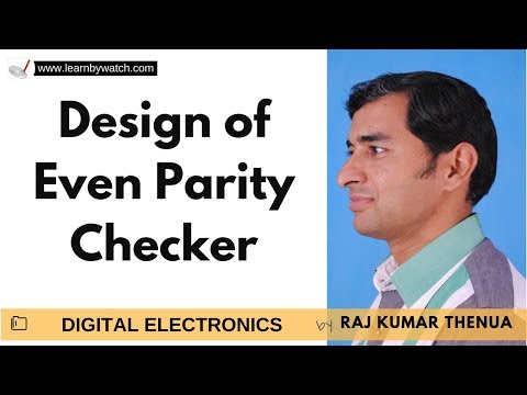 Design of Even Parity Checker | Hindi / Urdu | Digital Electronics by Raj Kumar Thenua
