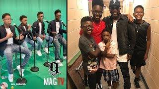 Download Wanya Morris From Boyz II Men 4 Son's Can Sang! 🎤 Video