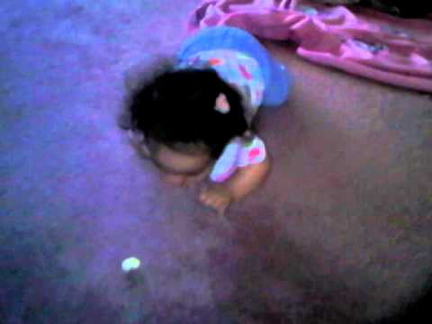 how to teach baby to crawl part 1